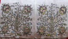 Antique Ottoman Turkish Islamic Sash Fine Gold Silver Metallic Embroidery