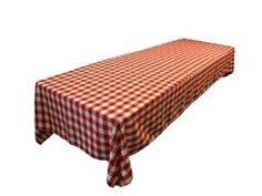Amazon.com: Checkered Tablecloth 60 Inches X 120 Inches. Made in the USA. Exclusively By LA Linen: Home & Kitchen
