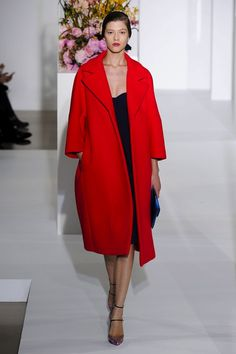 Jil Sander Red Coat
