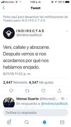 Ya mismo!!! Sad Girl, Twitter Quotes, Spanish Quotes, Sentences, Bff, Love Quotes, Nostalgia, Tumblr, Letters