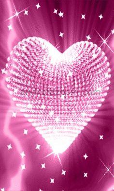 A pink heart chandelier :)