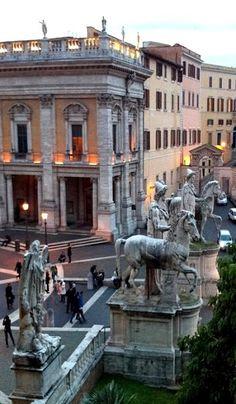 Piazza del Campidoglio, Rome, Italy