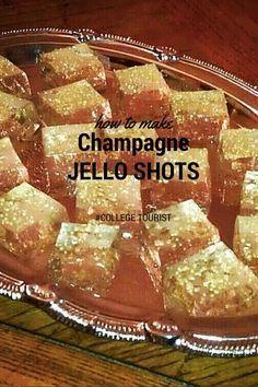 How to Make Champagne Jello Shots