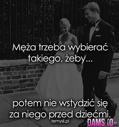 Damsko.pl - Jedyna taka strona dla kobiet, moda, inspiracje, cytaty, plotki Humor, Funny, Quotes, Movies, Movie Posters, Quotations, Films, Humour, Film Poster