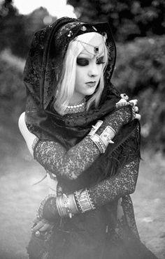Beautiful Gothic Gypsy