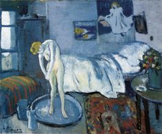 Always loved Picasso's blue period. Blue Room.