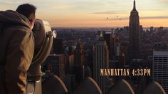 Manhattan 4.33pm by Lizzie Oxby. Director: Lizzie Oxby