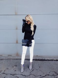 Marina McAvoy #fashion #blackandwhite