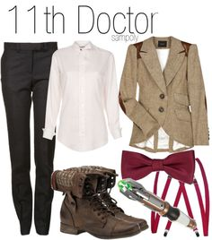 """""""11th Doctor"""" by sampoly ❤ liked on Polyvore"""