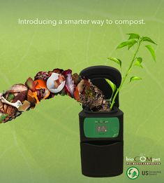 "BioCOMpet Home Pet Waste Composter by bioDOGradable Bags is the new and faster way to compost. It is the definition of ""a new era of zero waste"". Turn your pet or organic waste into compost within 2 weeks!  #green #gardening #compost #planet #flowers #plants #love #garden #pets #zerowaste #waste #wasted #petstagram #dogs #cats #gardeners #garbage #greens"