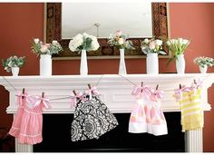 Baby Shower flowers by Swish Productions Houston.