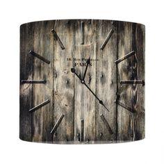 Rustic clock £23.75