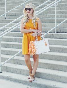 Tennessee Game Day #ootd via Primp and Proper #Tennessee #Vols #gameday #orange