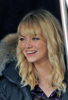 So This Is What Emma Stone's Hair Will Look Like in the Next Spider-man Movie. What Do You Think?