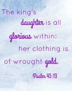3 Verses for Every Little Girl's Room | Glorious Within Her