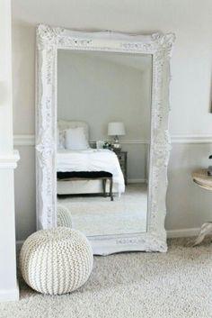 D R E S S I N G Mirror Vintage Leaning Mirror, Floor Mirror ...