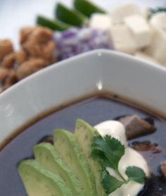 Sopa sin Tortillas! / @DJ Foodie / DJFoodie.com