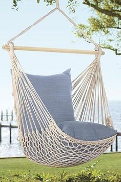 Woven Cotton Hammock Chair - Lily Wings - 1