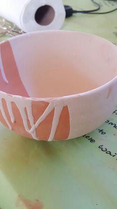 Bowl (6.4 x 3.4) Glaze: Antique Blue (Half-Dip) Antique Blue (Drip)