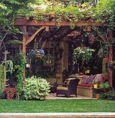 Amazing Modern Pergola Patio Ideas for Minimalist House. Many good homes of classical, modern, and minimalist designs add a modern pergola patio or canopy to beautify the home. In addition to the installa. Outdoor Rooms, Outdoor Gardens, Outdoor Living, Outdoor Decor, Outdoor Seating, Outdoor Ideas, Outdoor Sitting Areas, Natural Patio Ideas, Outdoor Reading Nooks