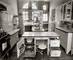 Modern Kitchen: 1924   Shorpy Historical Photo Archive