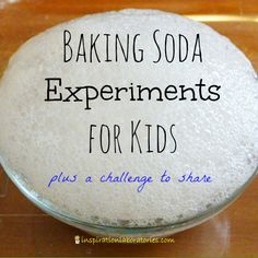 Challenge and Discover: Baking Soda Science