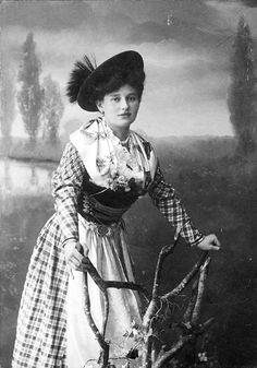 girl from bavaria back then...
