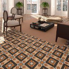 Harrow Victorian Moroccan Encaustic Vintage Mosaic Effect Wall & Floor Tiles Victorian Tiles, Italian Tiles, Encaustic Tile, Style Tile, Wall And Floor Tiles, Tile Patterns, Mosaic, Ceramics