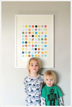 Circle Punch Art, by Merrilee at MerMag blog.