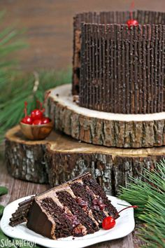 Black Forest Cake | From SugarHero.com