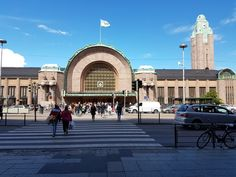 The Railway Station in Helsinki in Summer 2017. Photo by Helena Roschier. #helenaroschier #helsinki2017