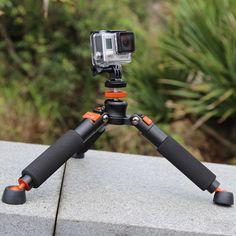 Mini tripod Portable Aluminium monopod Mobile Desktop support legs For Camera #QZSD