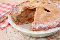Pastel de manzana (american pie). Parecido al strudel, pero con masa quebrada.