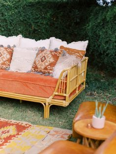 Warm hued lounge furniture inspiration for a boho chic wedding featuring lots of layered natural textures and Southwestern inspired patterns Furniture Inspiration, Color Inspiration, Wedding Inspiration, Arizona Wedding, Atlanta Wedding, Lounge Furniture, Color Stories, Natural Texture, Fes