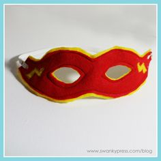 Make a fun mask for your boy boxes!