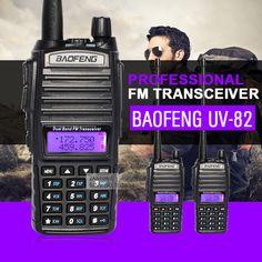 2ピース/ロットbaofeng uv-ハンドヘルドトランシーバーデュアルバンド双方向ラジオbf cbラジオコミュニケポータブルアマチュア無線トランシーバ