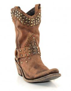 Women's Liberty Black Vegas Boots Faggio #LB-711511FAGG