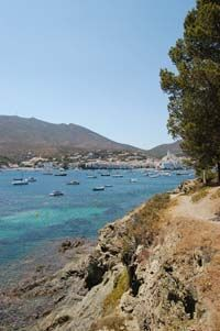 Cadaques from across the bay