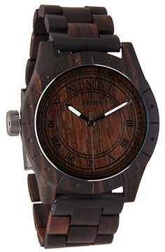 Flud Big Ben Oak Watch cool men style!