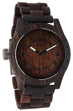Flud Big Ben Oak Watch cool men style!