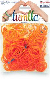 Elastice opace portocalii