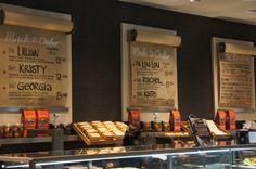 Retail - menu signage