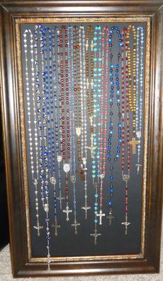 My rosary collection