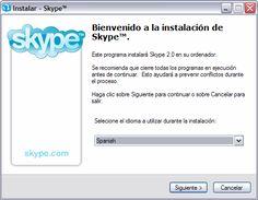 Skype, para hablar gratis con todo el mundo.