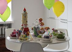 Table Settings, Table Decorations, Party, Celebration, Furniture, Kids, Home Decor, Young Children, Fiesta Party