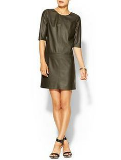 I like!   Tinley Road Perforated Vegan Leather Shift | Piperlime