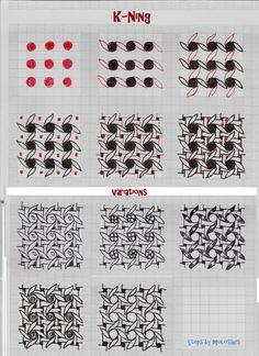 Life Imitates Doodles: Elegant tangles