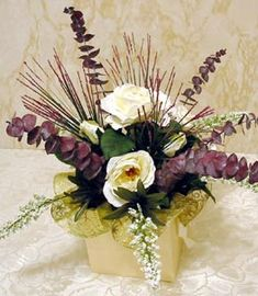 How To Make This Stylish Silk Flower Centerpiece in Five Easy, Simple Steps