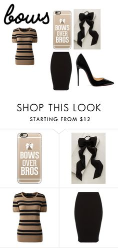 """Untitled #125"" by scarletstorm ❤ liked on Polyvore featuring Casetify, Anthropologie, Lands' End and Christian Louboutin"