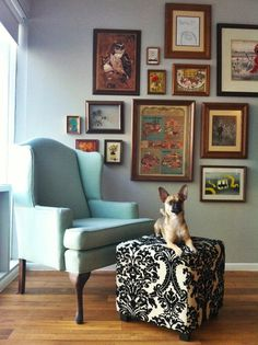 """Kelsey's """"Pops of Mid-Century"""" Room Room for Color Contest"""